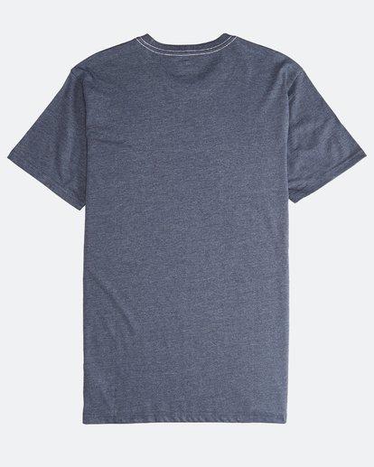 1 Wave - Camiseta de Manga Corta para Hombre Azul Q1SS14BIF9 Billabong
