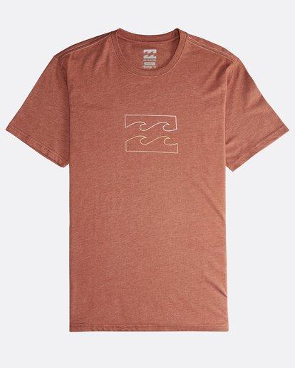 0 Wave - T-Shirt für Männer  Q1SS14BIF9 Billabong