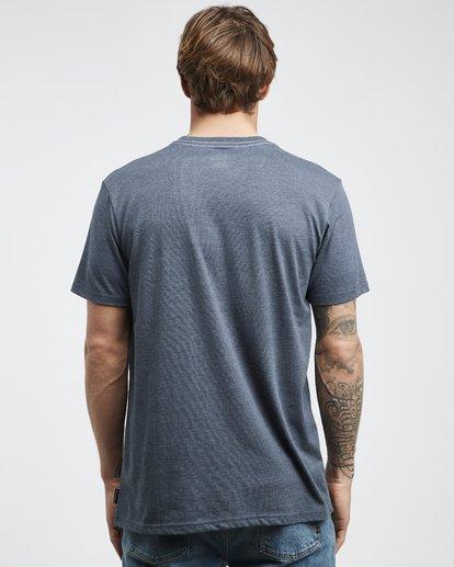 7 Wave - Camiseta de Manga Corta para Hombre Azul Q1SS14BIF9 Billabong