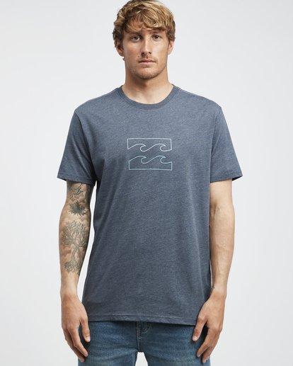 6 Wave - Camiseta de Manga Corta para Hombre Azul Q1SS14BIF9 Billabong