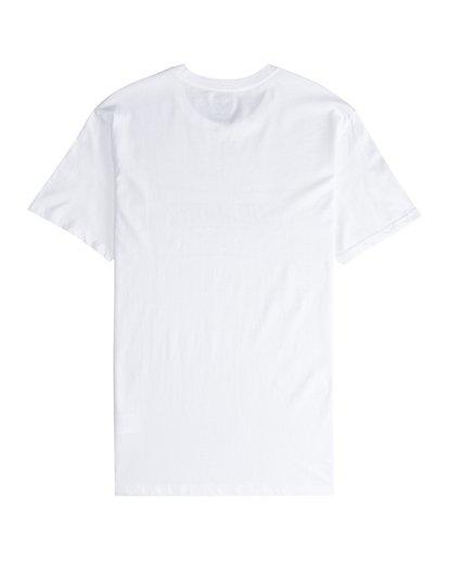 5 Trade Mark - T-Shirt für Männer Weiss Q1SS16BIF9 Billabong