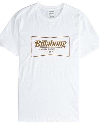 4 Trade Mark - T-Shirt für Männer Weiss Q1SS16BIF9 Billabong