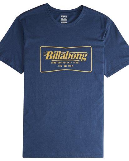 4 Trade Mark - T-Shirt für Männer Blau Q1SS16BIF9 Billabong