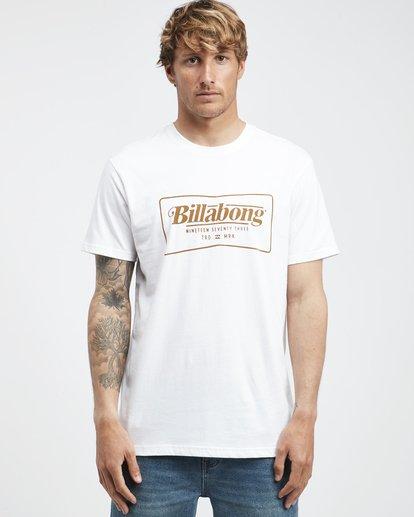 6 Trade Mark - T-Shirt für Männer Weiss Q1SS16BIF9 Billabong