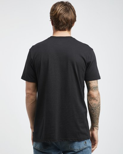 7 Trade Mark - Camiseta de Manga Corta para Hombre Negro Q1SS16BIF9 Billabong