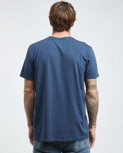 7 Trade Mark - T-Shirt für Männer Blau Q1SS16BIF9 Billabong