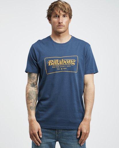 6 Trade Mark - T-Shirt für Männer Blau Q1SS16BIF9 Billabong