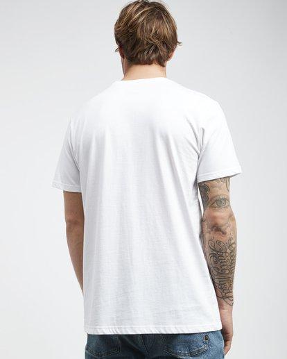 3 Trade Mark - T-Shirt für Männer Weiss Q1SS16BIF9 Billabong