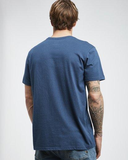 3 Trade Mark - T-Shirt für Männer Blau Q1SS16BIF9 Billabong