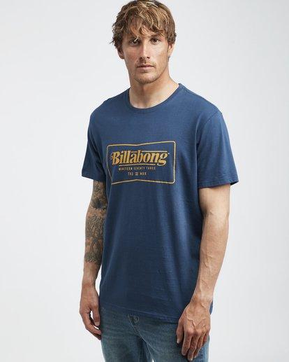 2 Trade Mark - T-Shirt für Männer Blau Q1SS16BIF9 Billabong