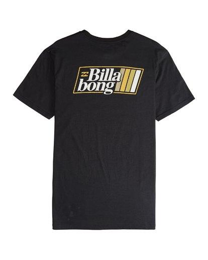 5 Super 8 - Camiseta de Manga Corta para Hombre Negro Q1SS17BIF9 Billabong