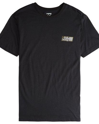4 Super 8 - Camiseta de Manga Corta para Hombre Negro Q1SS17BIF9 Billabong