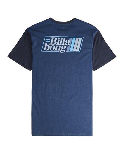 5 Super 8 - T-Shirt für Männer Blau Q1SS17BIF9 Billabong