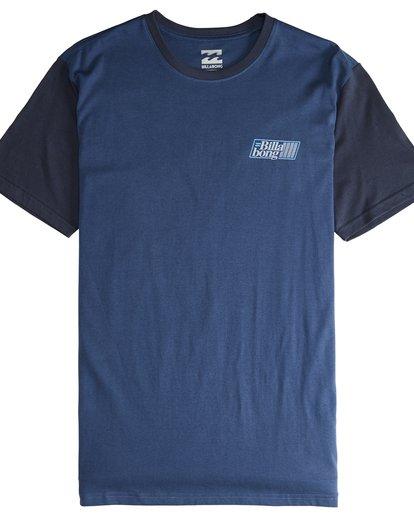 4 Super 8 - T-Shirt für Männer Blau Q1SS17BIF9 Billabong
