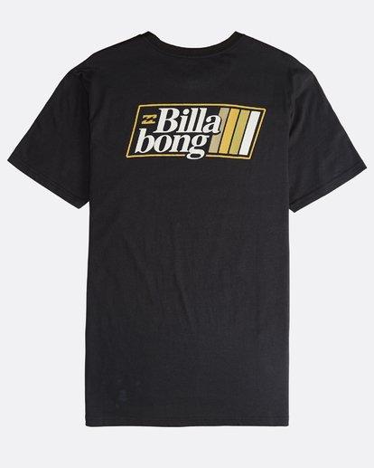 1 Super 8 - Camiseta de Manga Corta para Hombre Negro Q1SS17BIF9 Billabong