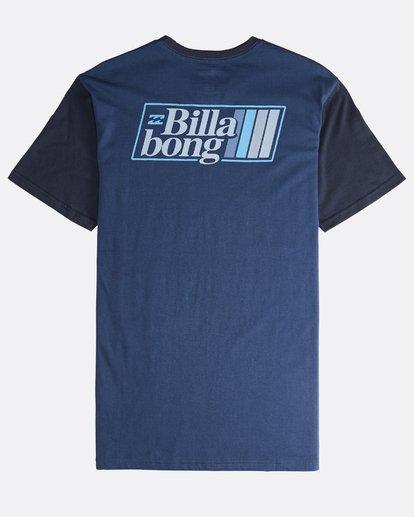 1 Super 8 - T-Shirt für Männer Blau Q1SS17BIF9 Billabong