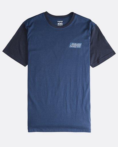 0 Super 8 - T-Shirt für Männer Blau Q1SS17BIF9 Billabong