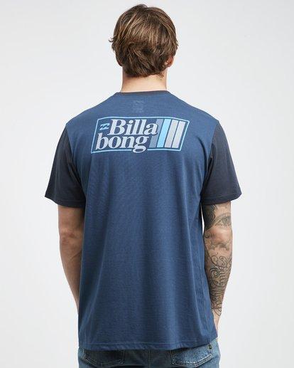 7 Super 8 - T-Shirt für Männer Blau Q1SS17BIF9 Billabong