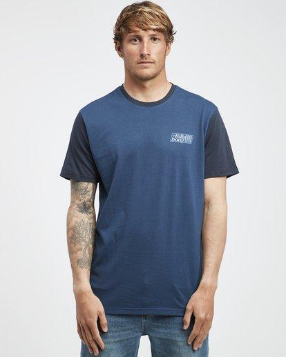 6 Super 8 - T-Shirt für Männer Blau Q1SS17BIF9 Billabong