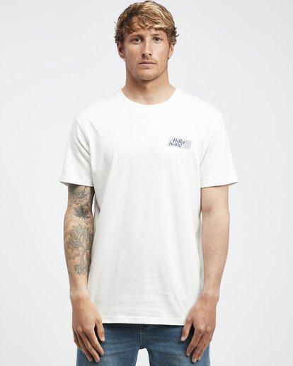 6 Super 8 - T-Shirt für Männer Beige Q1SS17BIF9 Billabong