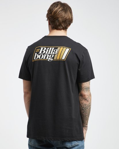3 Super 8 - Camiseta de Manga Corta para Hombre Negro Q1SS17BIF9 Billabong