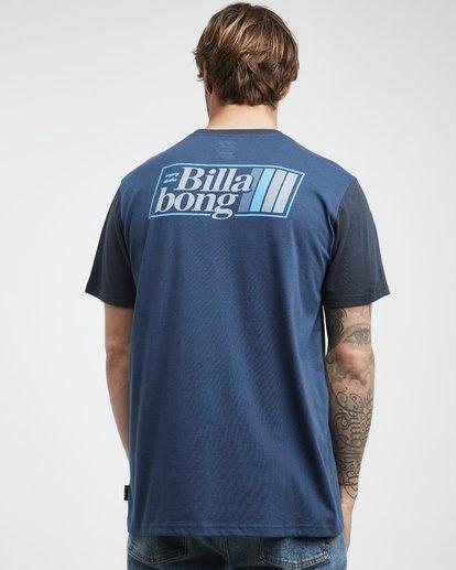 3 Super 8 - T-Shirt für Männer Blau Q1SS17BIF9 Billabong