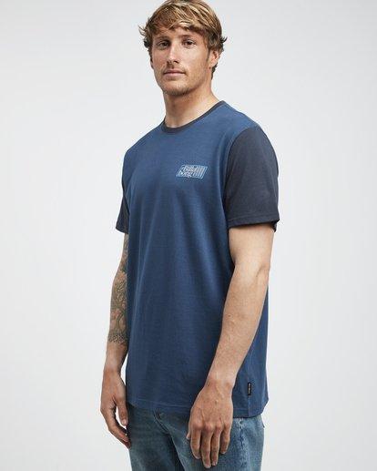 2 Super 8 - T-Shirt für Männer Blau Q1SS17BIF9 Billabong