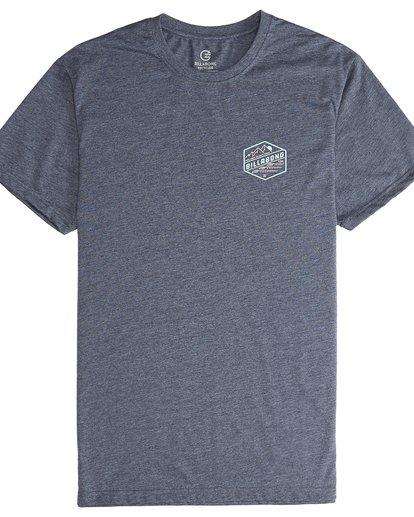 5 Ridge - Camiseta de Manga Corta para Hombre Azul Q1SS18BIF9 Billabong