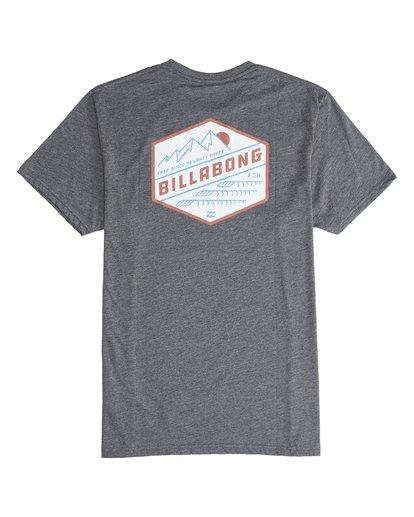 6 Ridge - Camiseta de Manga Corta para Hombre  Q1SS18BIF9 Billabong