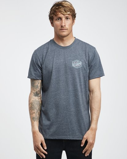 7 Ridge - T-Shirt für Männer Blau Q1SS18BIF9 Billabong