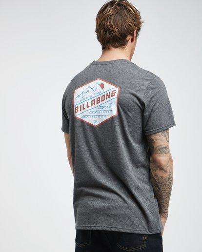3 Ridge - Camiseta de Manga Corta para Hombre  Q1SS18BIF9 Billabong