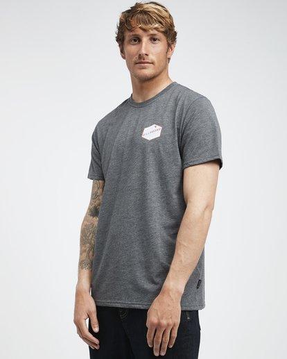 2 Ridge - Camiseta de Manga Corta para Hombre  Q1SS18BIF9 Billabong