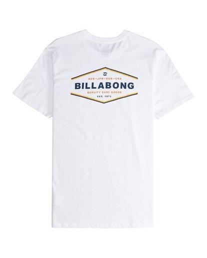 5 Vista - Camiseta de Manga Corta para Hombre Blanco Q1SS19BIF9 Billabong