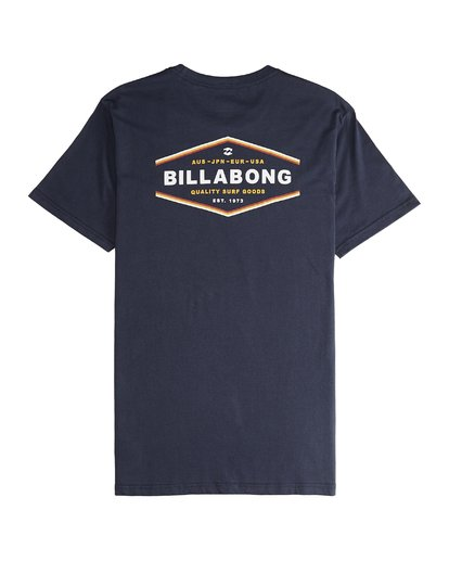 5 Vista - Camiseta de Manga Corta para Hombre Azul Q1SS19BIF9 Billabong