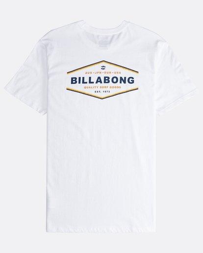 1 Vista - Camiseta de Manga Corta para Hombre Blanco Q1SS19BIF9 Billabong