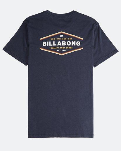 1 Vista - Camiseta de Manga Corta para Hombre Azul Q1SS19BIF9 Billabong