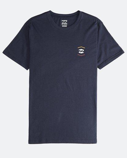 0 Vista - Camiseta de Manga Corta para Hombre Azul Q1SS19BIF9 Billabong