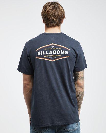 7 Vista - Camiseta de Manga Corta para Hombre Azul Q1SS19BIF9 Billabong
