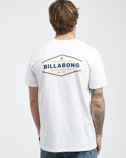 3 Vista - Camiseta de Manga Corta para Hombre Blanco Q1SS19BIF9 Billabong