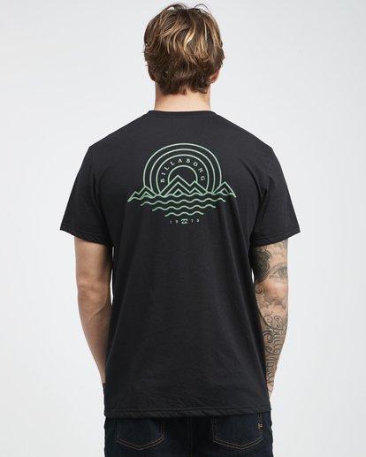 8 Starkweather - T-Shirt für Männer Schwarz Q1SS21BIF9 Billabong