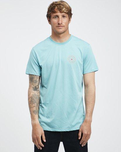 7 Starkweather - Camiseta de Manga Corta para Hombre  Q1SS21BIF9 Billabong
