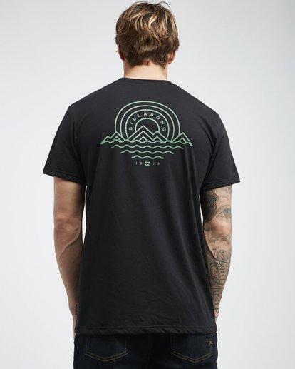 3 Starkweather - T-Shirt für Männer Schwarz Q1SS21BIF9 Billabong