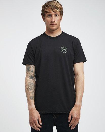 2 Starkweather - T-Shirt für Männer Schwarz Q1SS21BIF9 Billabong