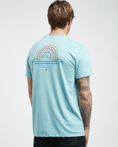 3 Starkweather - Camiseta de Manga Corta para Hombre  Q1SS21BIF9 Billabong