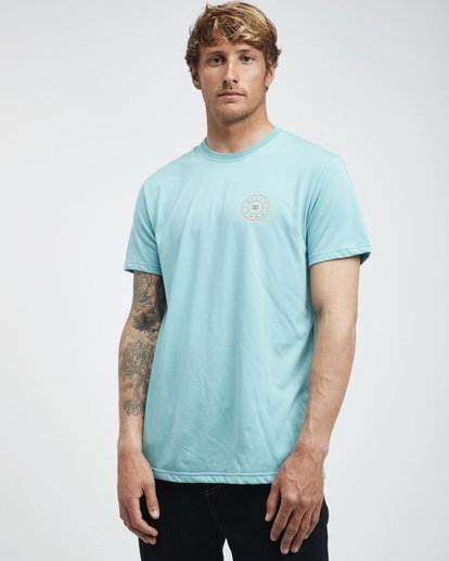 2 Starkweather - Camiseta de Manga Corta para Hombre  Q1SS21BIF9 Billabong