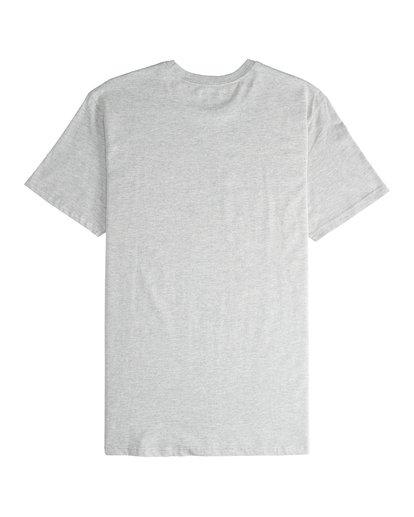 5 Inversed - T-Shirt für Männer Grau Q1SS22BIF9 Billabong