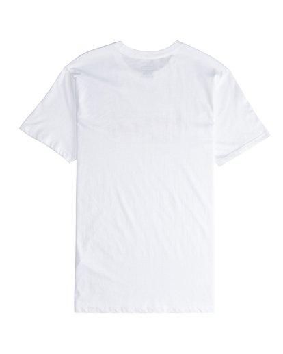 5 Inversed - T-Shirt für Männer Weiss Q1SS22BIF9 Billabong
