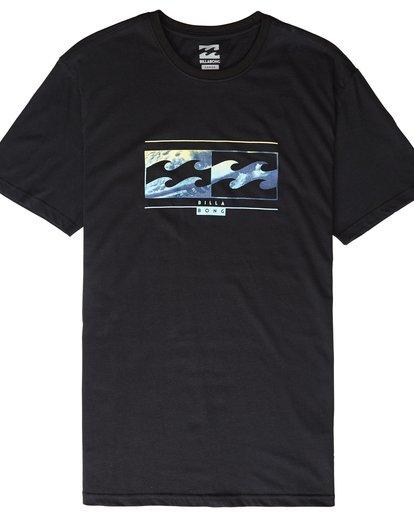 4 Inversed - T-Shirt für Männer Schwarz Q1SS22BIF9 Billabong