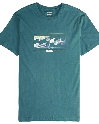 4 Inversed - T-Shirt für Männer Grün Q1SS22BIF9 Billabong