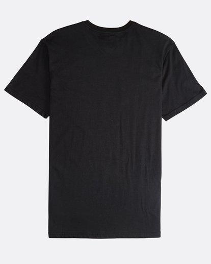 1 Inversed - T-Shirt für Männer Schwarz Q1SS22BIF9 Billabong